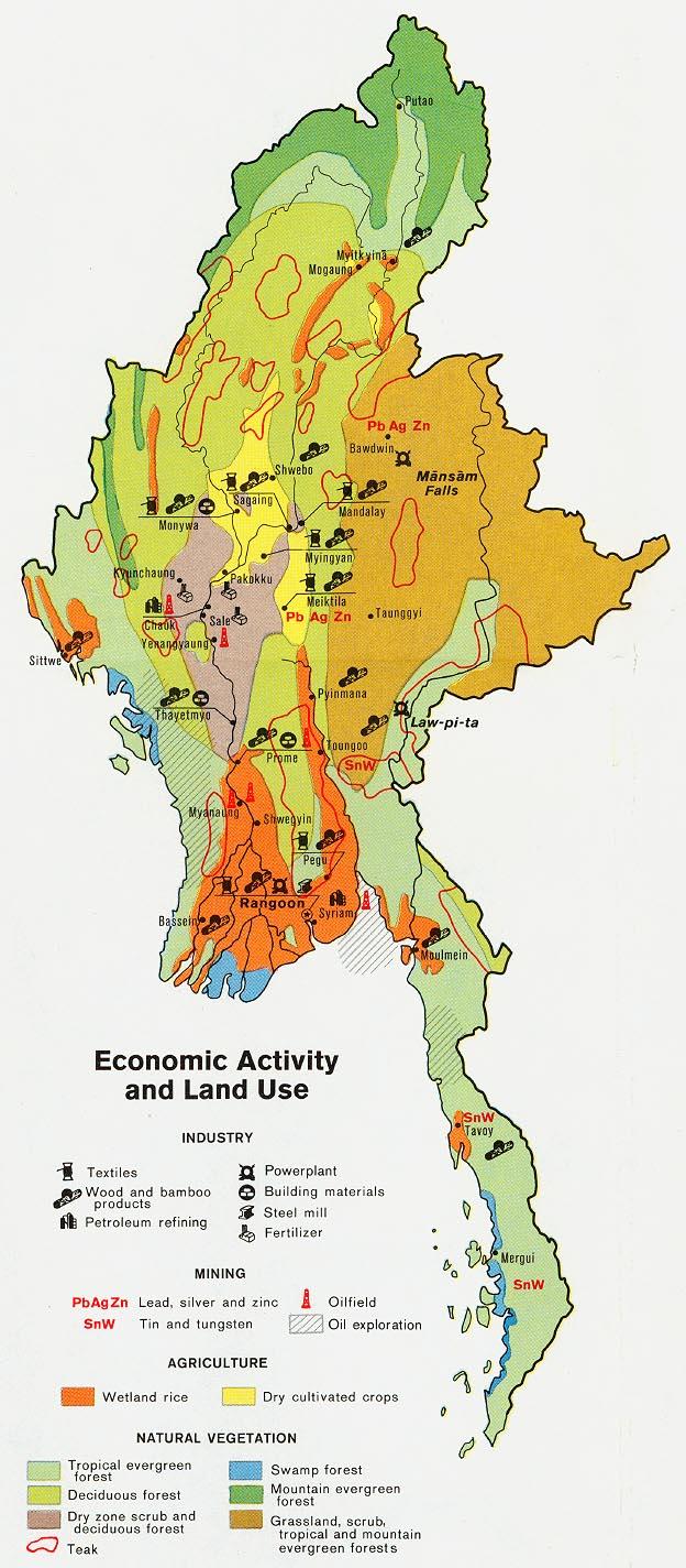 Myanmar - Climate | Britannica.com